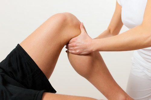 masaż kolana