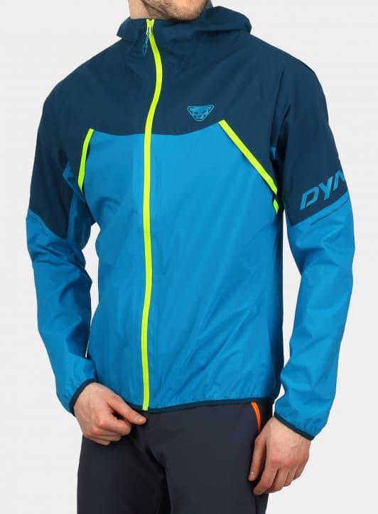 niebieska kurtka do biegania