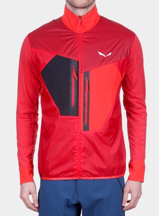 czerwona kurtka do biegania